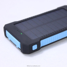 New Arriva Waterproof 10000mah solar power bank Charger