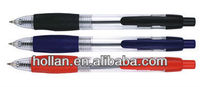 high-quality Retractable Ballpoint Pen with Rubber sleeve