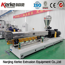 KTE-75B Twin screw extruder recycle plastic granules making machine price