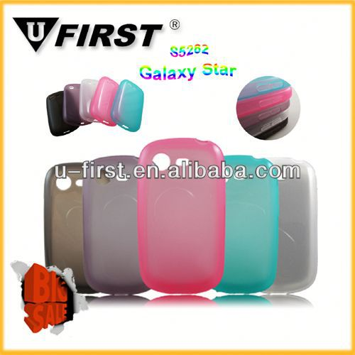 Glossy for samsung S5282 gel cover GALAXY Star case