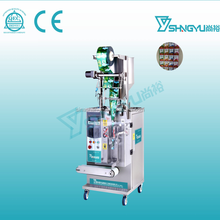 Alibaba manufacture high quality stainless steel full-auto type sachet shampoo liquid packing machine plant