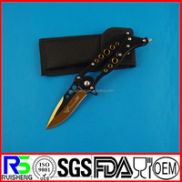 High Quality camping outdoor survival tactical pocket knives made in china