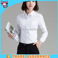 Exquisite High Quality Plain Formal Shirt For Girls