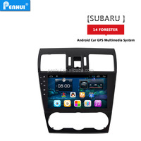 PENHUI Android 4.4.2 Car GPS Player NAVIGATION for Forester 2013 2014 support 3G wifi bluetooth OBD mirror-link+FREE MAP