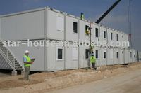 container building / camp / flat pack container / Prefab house
