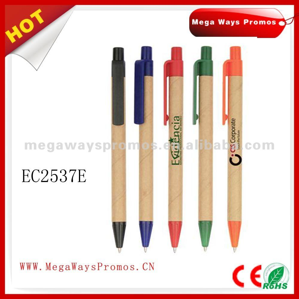 Best selling recycled paper made ballpoint pen