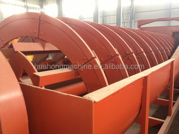 Professional manufacturing good quality Spiral stone/sand washing machine/ore washer