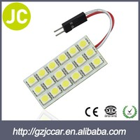 Hot made in china 5050 led car light trailer dome light