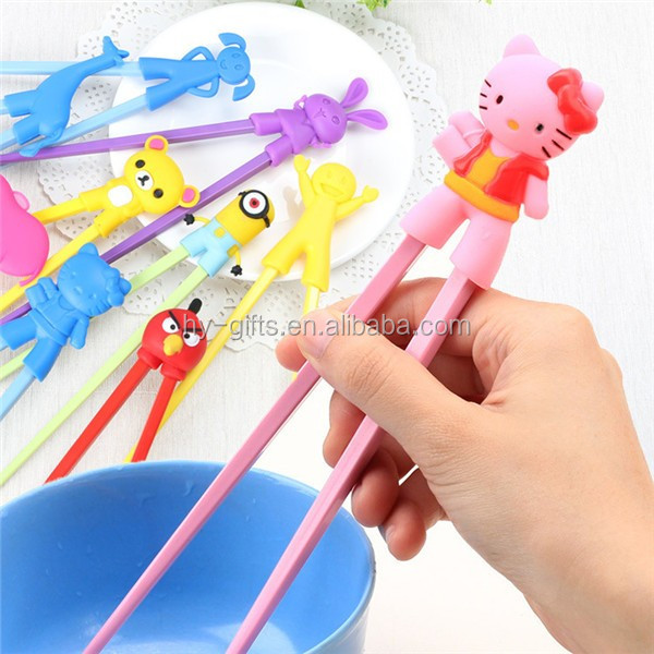 cute shaped silicone chopsticks disposable silicone chopsticks
