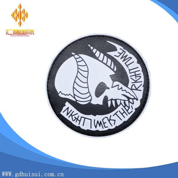 High quality rubber custom washable elbow patches no minimum