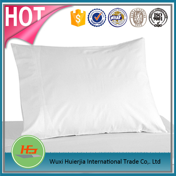 Cheap White Microfiber Blank Pillow Cover for Dye Sublimation Printing