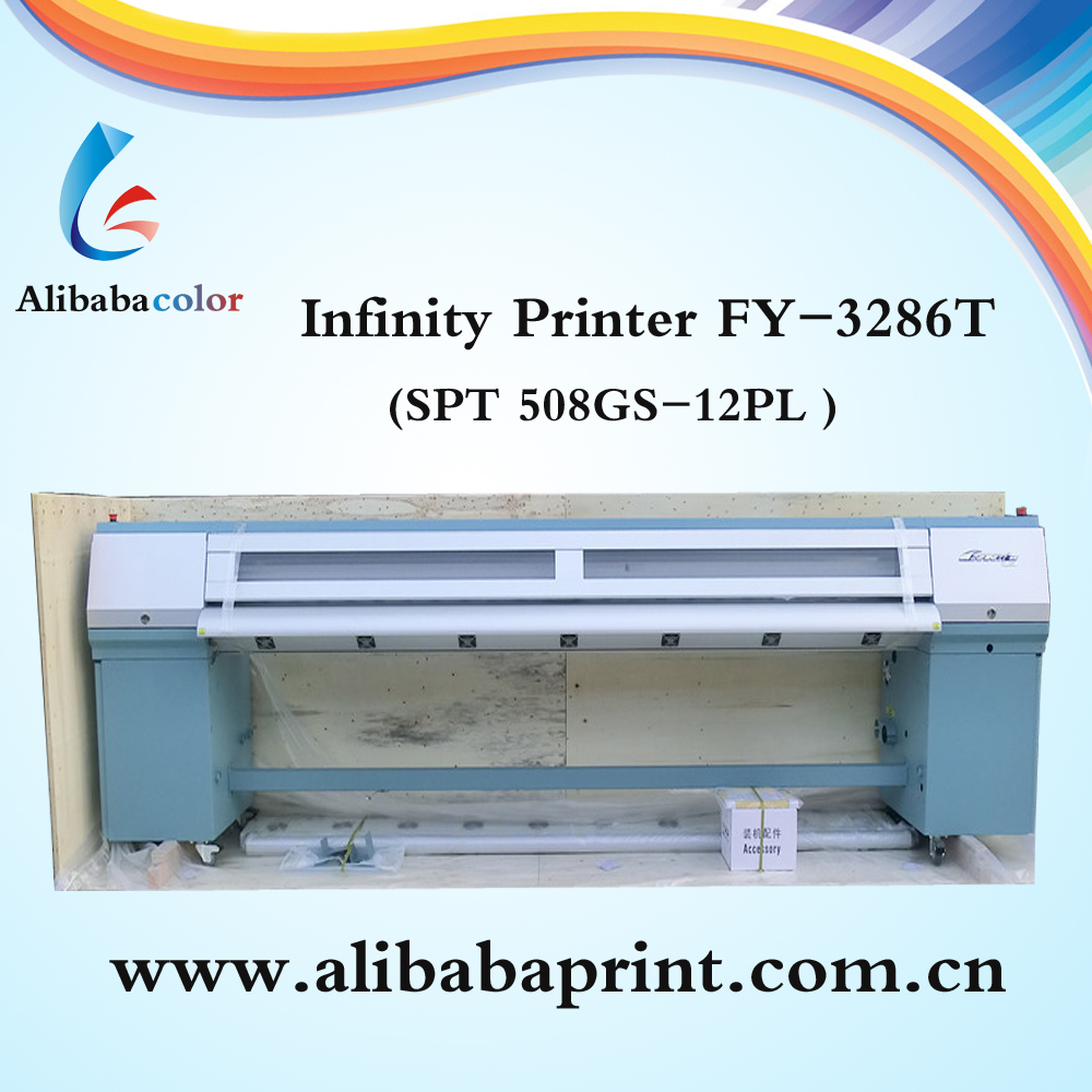 High quality 10ft 6 color FY-3286T Double sided large format printer
