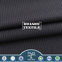 Free sample High quality with low price New design Anti-static men's wear purple and white striped fabric
