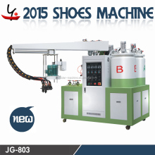 Full automatic two color two density pu shoe-making(sole) pouring machine