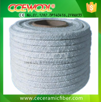 1260 high temperature insulation FG ceramic fiber rope