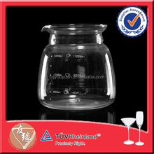 Unique Round Glassware 1.8L Drinking Cup Measurement
