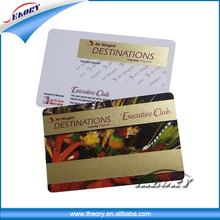CR80 Standard Size Plastic Card/PVC Card/Plastic PVC Card for membership