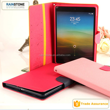 High quality tablet leather case for xiaomi mipad with solts