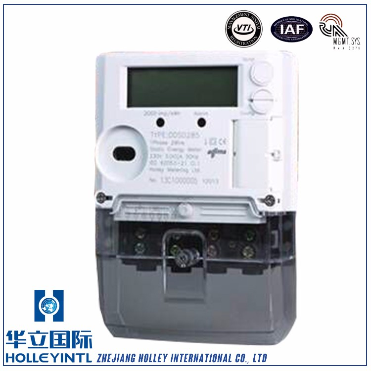 DDSD285-C Independent sealing of the meter body and terminal cover Single Phase High Precision Energy Meter