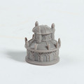 OEM wholesale sale custom new product pvc toy/custom made small castle house shape rotocast toy for decor
