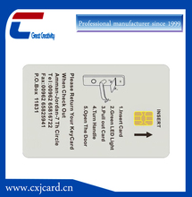 Factory high quality low price customized rfid chip card door lock card game chip tk4100 chip card