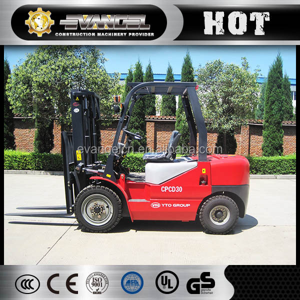 3ton diesel hydraulic forklift truck CPCD35 with CE certification