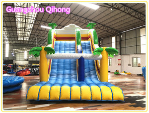 Giant Inflatable Water Slide For Adult, Inflatable Pool Slide For Sale