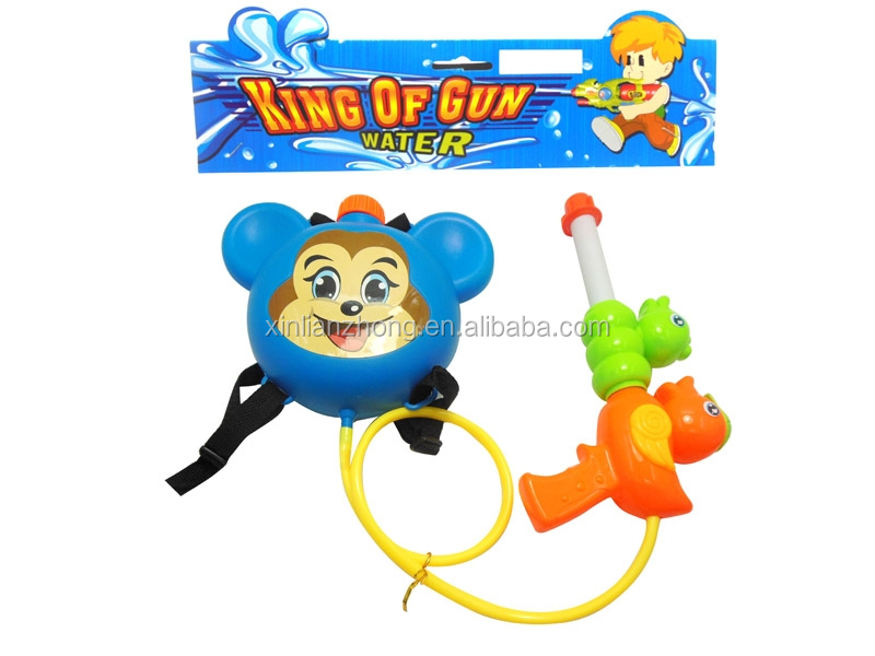elephant design plastic big water gun with tank backpack