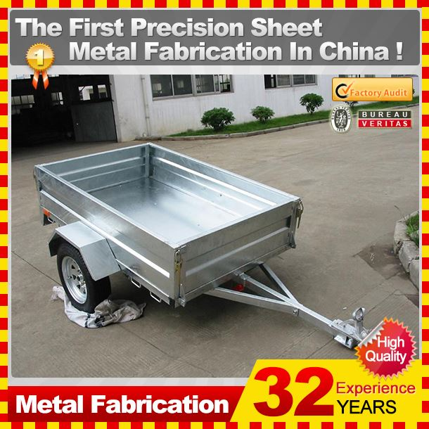 Kindle 2014 Guangdong Professional heavy duty Motor boat trailer