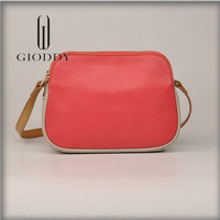 Luxury Europe Design China manufacture high quality genuine leather shoulder handbag