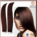 Factory Wholesale tape hair extension virgin indian Hot Selling Good Feedback Tangle Free Tape In Hair Extentions
