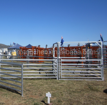 Sheep corral panels