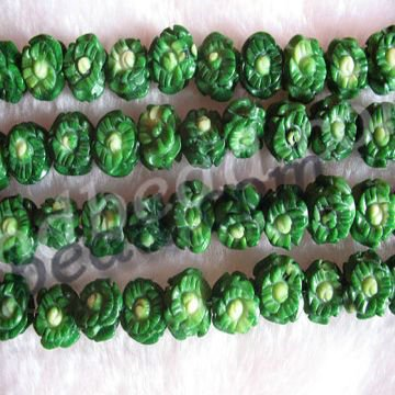 Green L91 AAA grade nature coral beads