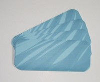 airline anti slip tissue tray mat