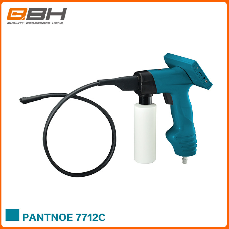 waterproof IP67 car AC cleaning endoscope with 4.3'' LCD screen