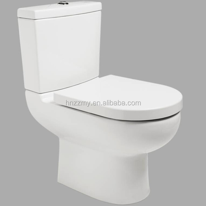 Europe Bathroom Toilet Bowl with Thermoplastic seat cover