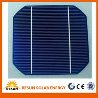 A grade certified monocrystalline solar cell 156*156