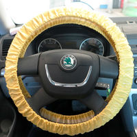 pvc plastic car steering wheer cover