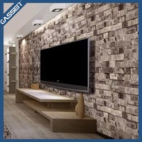 Custom good quality interior decoration 3d effect wallpaper