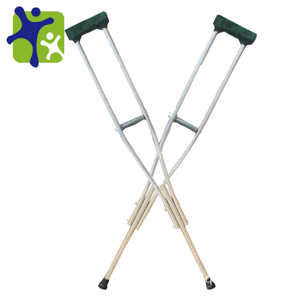 adjustable crutches telescopic crutches,aluminum axillary crutches