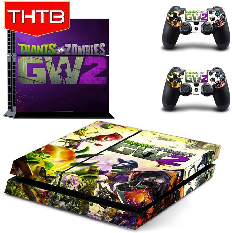 THTB Popular 2016 Hot Sell Gw2 Vinyl Skin For Sony Playstation 4 Ps4 Skin Sticker