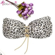 2017 Most Popular Magic Wing Comfortable Seamless Push up Backless Adhesive Invisible Bra Front Closure