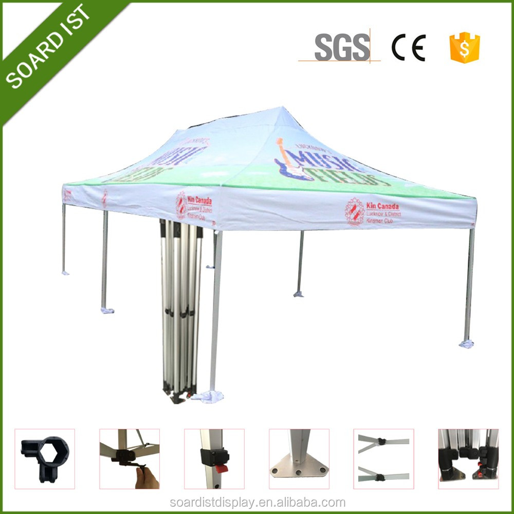 Promotional display tent/ Aluminum pipe for tent/White tent