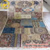 Henan Bosi 6'x9' Kashmir carpet prices indian products made in china factory handmade iranian silk indian carpets