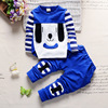 2016 New Product Kids Unisex Dog Pattern Casual Wear Clothes Sets Best Price