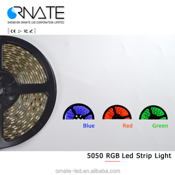 5M 5050 60LED/M IP65 24/44 keys adaptor rgb full kit flexible led strip