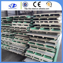 Colorful steel fireproof polyurethane/PU sandwich insulation foam board/panel