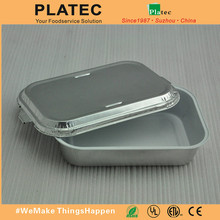 China made airline aluminum foil food container, airline food container