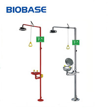 BIOBASE Laboratory Industial Stainless Steel Safety Station Emergency Eye Washer