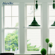 US Style Aluminum Top Hung Window / Aluminum Up And Down Sliding Window